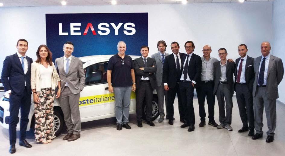 Iniziate le consegne a Poste Italiane per Leasys SpA.