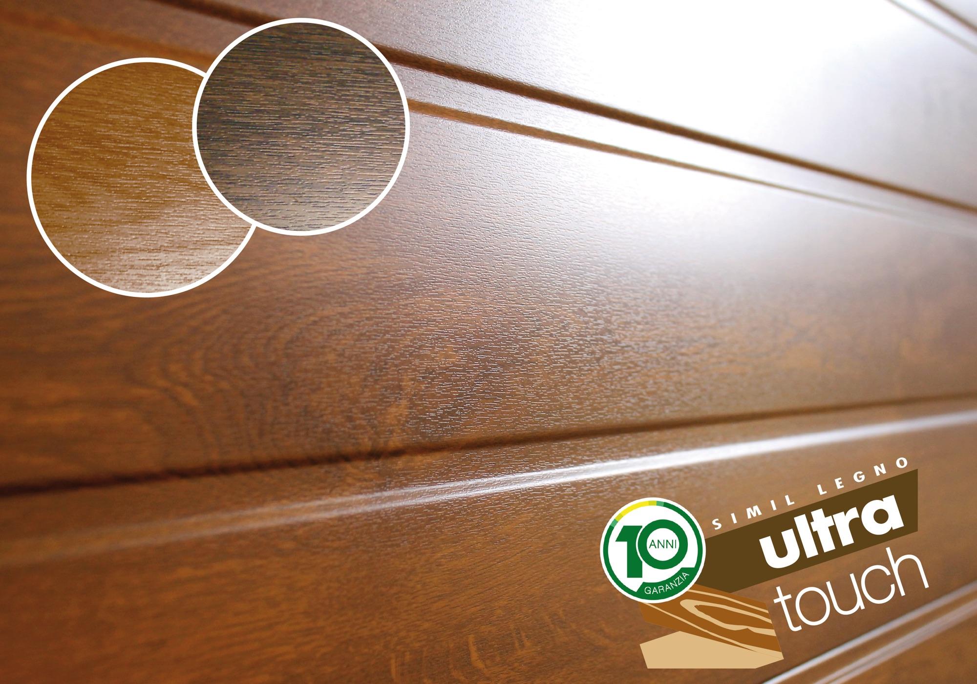 Breda presenta il nuovo simil legno Ultra Touch per i portoni residenziali