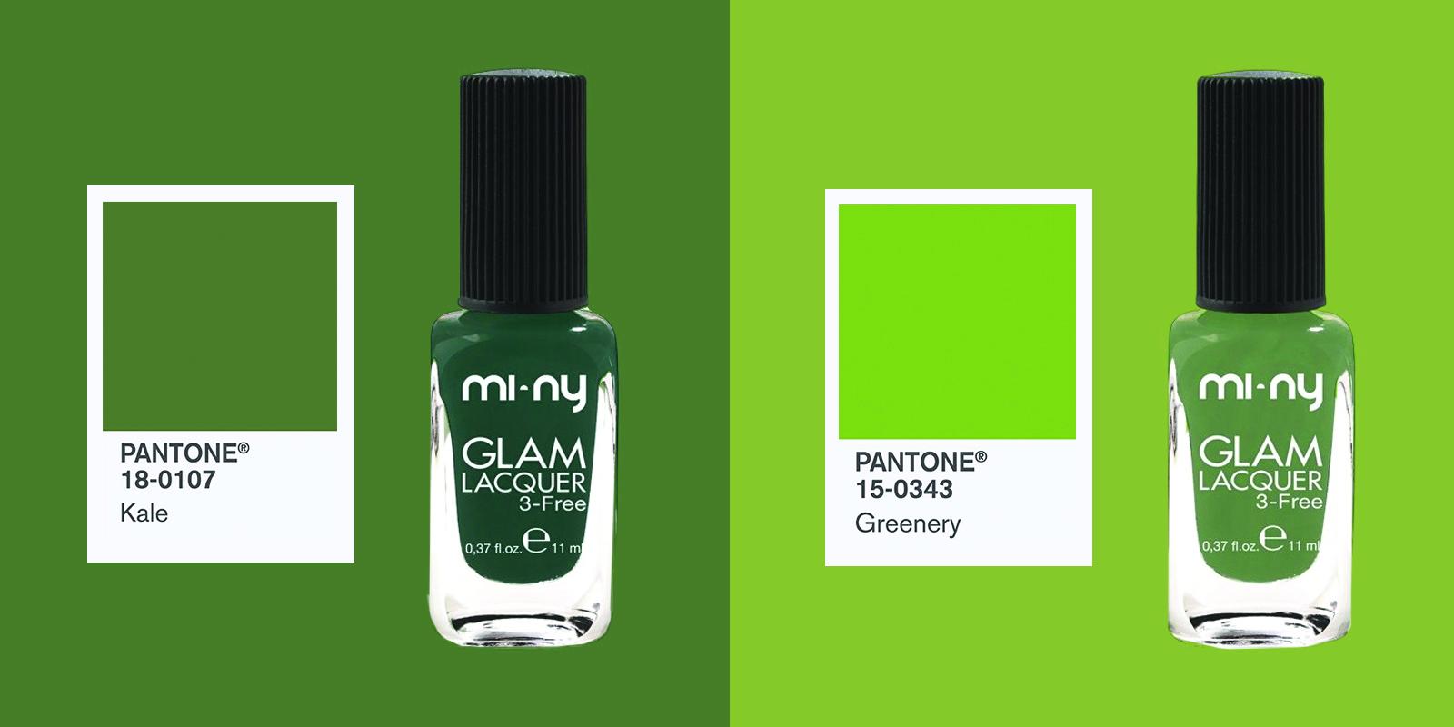 Manicure mi ny ispirata al color pantone 2017 verde for Verde pantone 2017