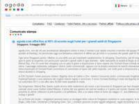 agoda.com offre fino al 55% di sconto sugli hotel per i grandi saldi di Singapore