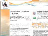 Axioma lancia al TTG due nuove soluzioni software per il turismo