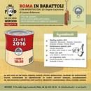 """Torna """"Roma in Barattoli"""" domenica 22 maggio al WeFood"""