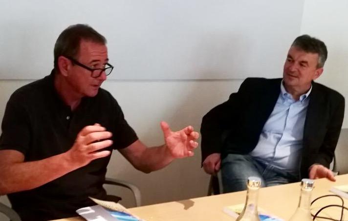 Marco Carra presenta il libro La mia Lombardia con l'autore Fabio Pizzul