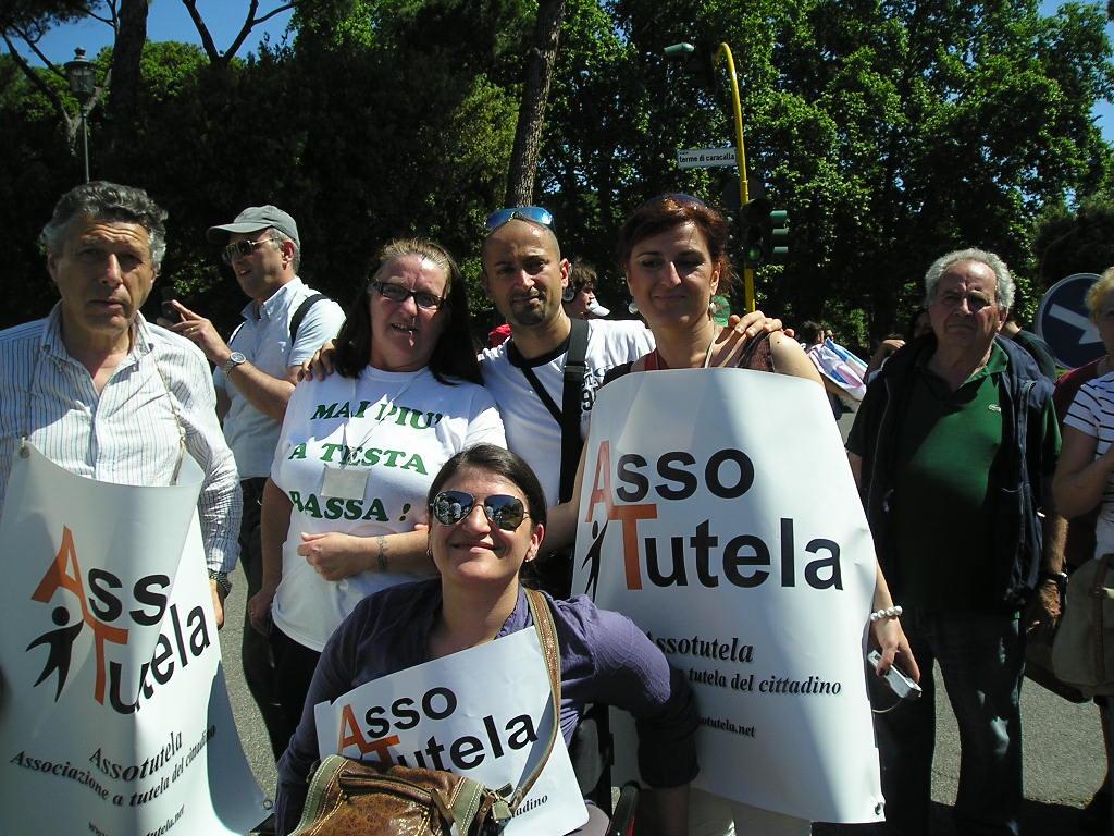 """Manifestazione Disabili 12 Maggio. Assotutela: """"Mai più a Testa Bassa"""""""