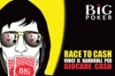 BIGpoker lancia Race To Cash: fino a 27.000€ per il poker cash!