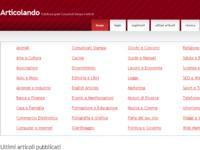 Articolando.info: un nuovo sito per la diffusione gratuita di Comunicati Stampa ed Articoli