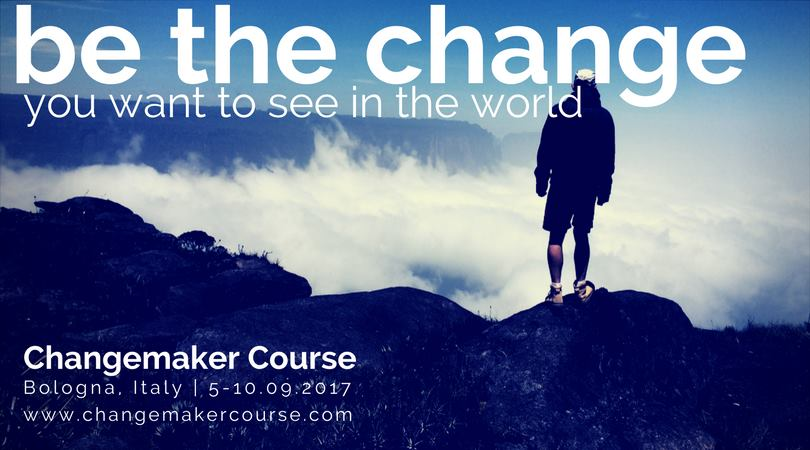 A Camere d'Aria un corso per changemaker. Be the change you want to see in the world!