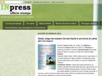 Aikido, stage del maestro Giovani Aprile in provincia di Latina dal 3 al 4 marzo
