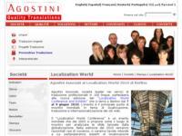"Agostini Associati al ""Localization World 2010"" di Berlino"