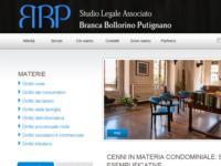 E' on line il portale web dello Studio Legale Associato Branca-Bollorino-Putignano