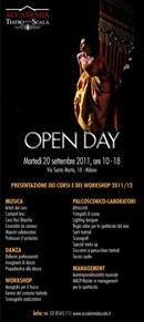 OPEN DAY - ACCADEMIA TEATRO ALLA SCALA - 20 SETTEMBRE 2011- ORE 10-18