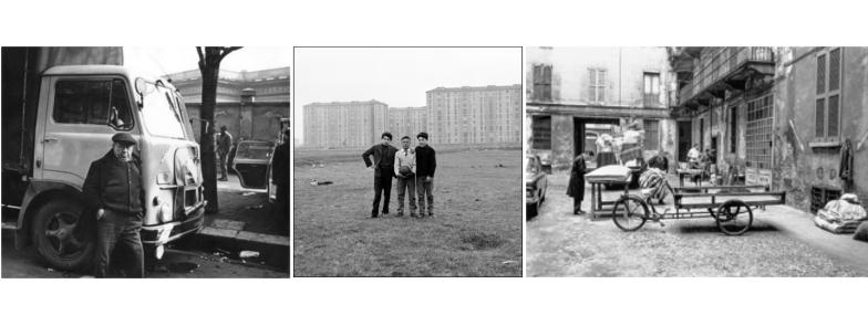 MILANO NEGLI ANNI '60 E LA FOTOGRAFIA DI DOCUMENTO