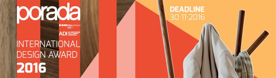 Porada International Design Award 2016