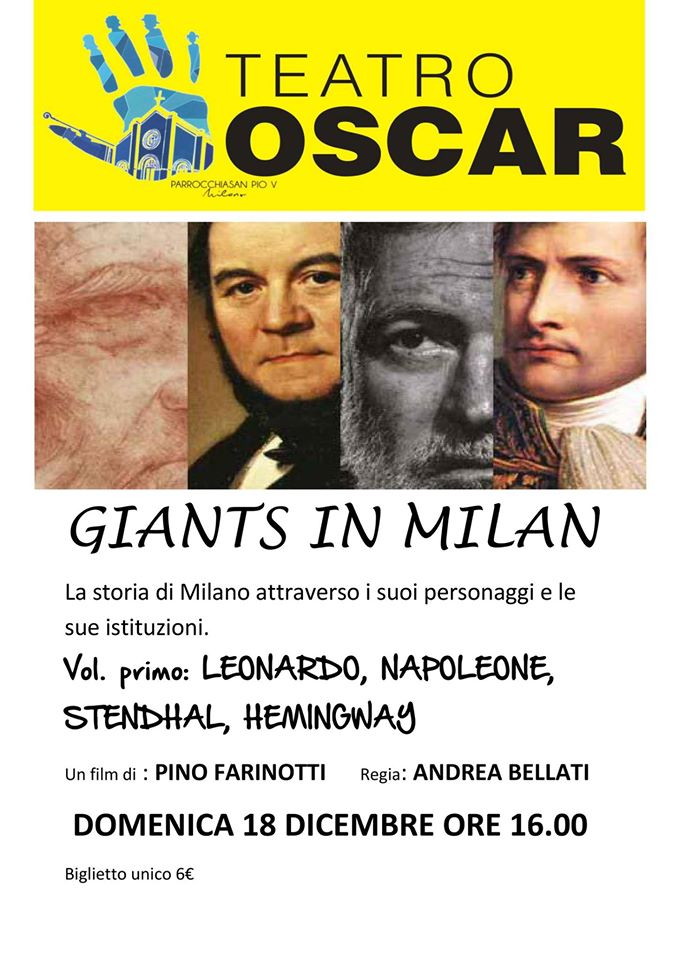 """GIANTS IN MILAN"" i ""GRANDI PERSONAGGI volume 1"""