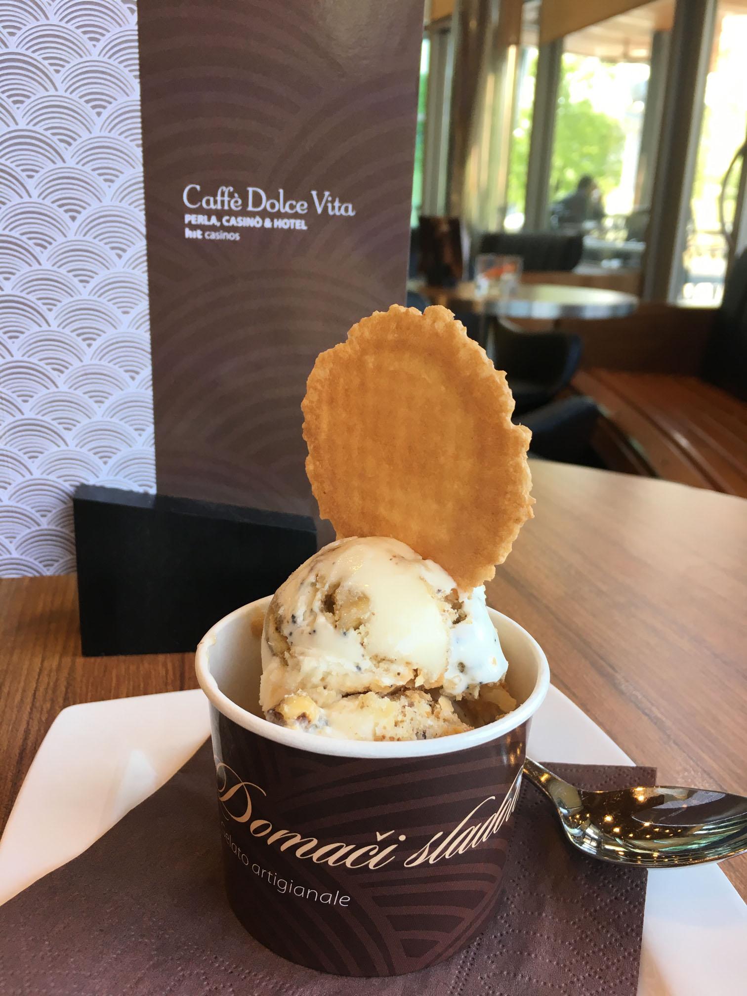 Il gelato del Perla Casinò & Hotel tra i finalisti al Gelato World Tour
