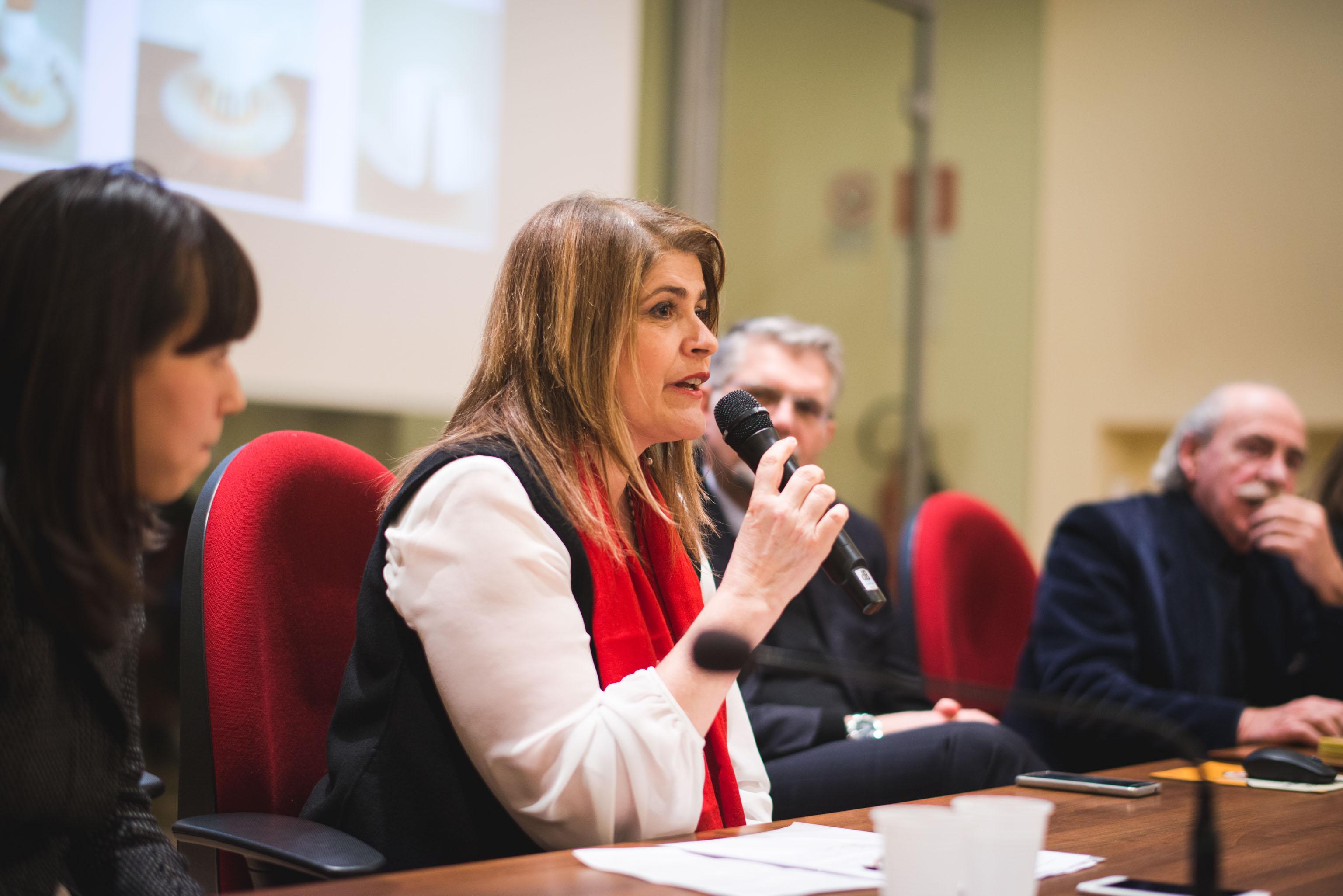 Marinella Paderni, direttore dell'ISIA di Faenza, nominata dalla Farnesina ambasciatore a Malta per l'Italian Design Day.