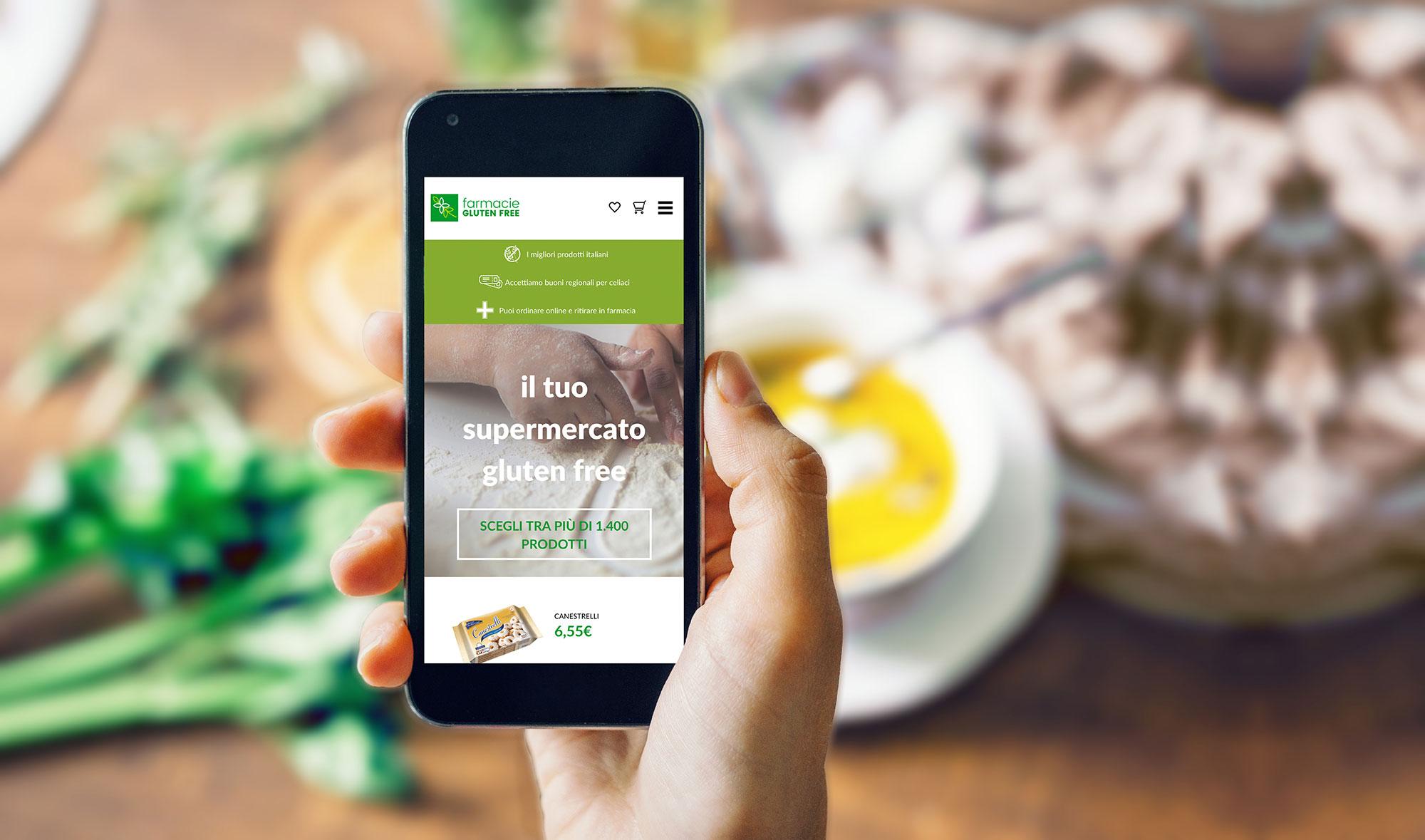 La spesa senza glutine si fa online e si ritira in farmacia
