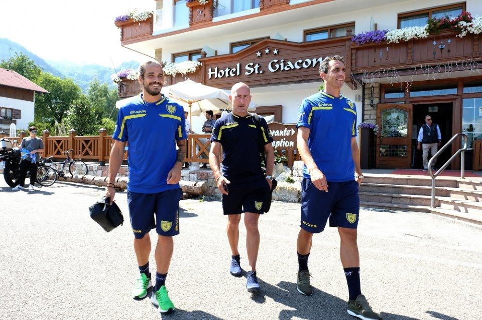 L'A.C. Chievo Verona in ritiro tra mindfulness e bodylessness grazie all'Hotel San Giacomo di Brentonico