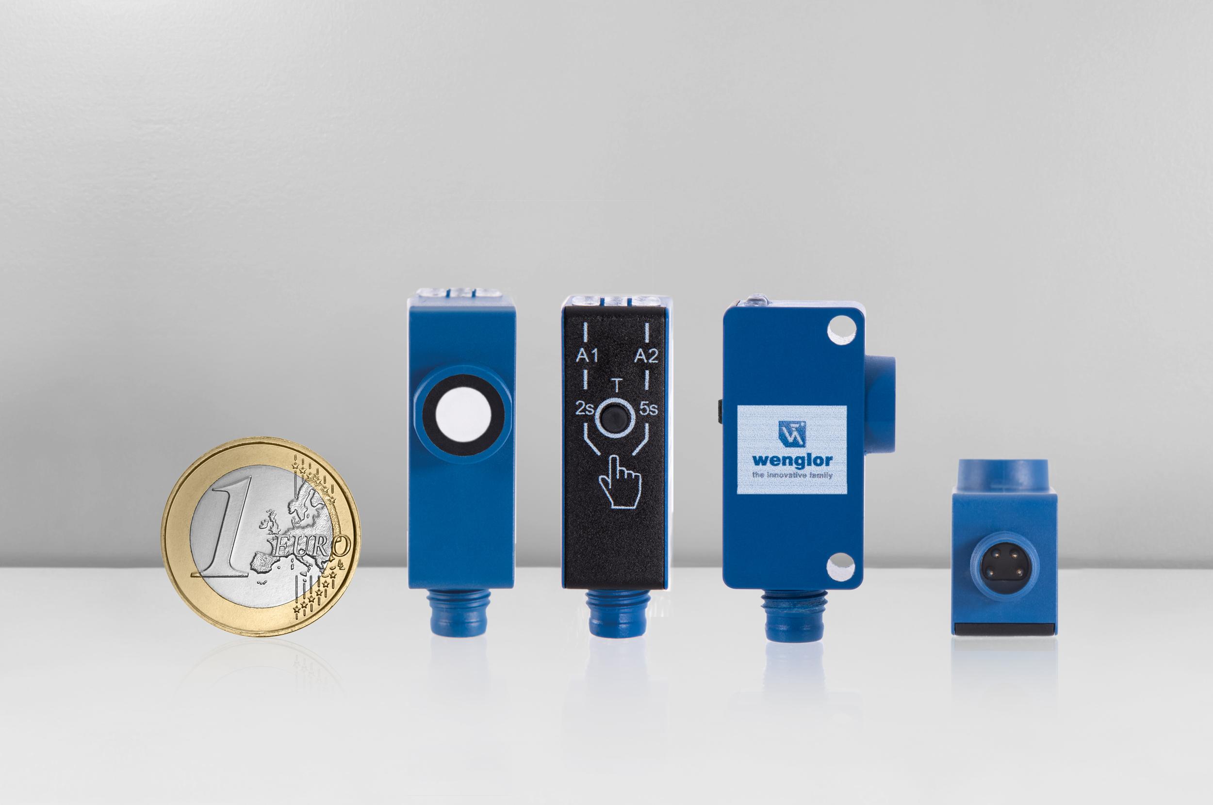 Sensore reflex a ultrasuoni U1KT001, ultra compatto, ultra intelligente