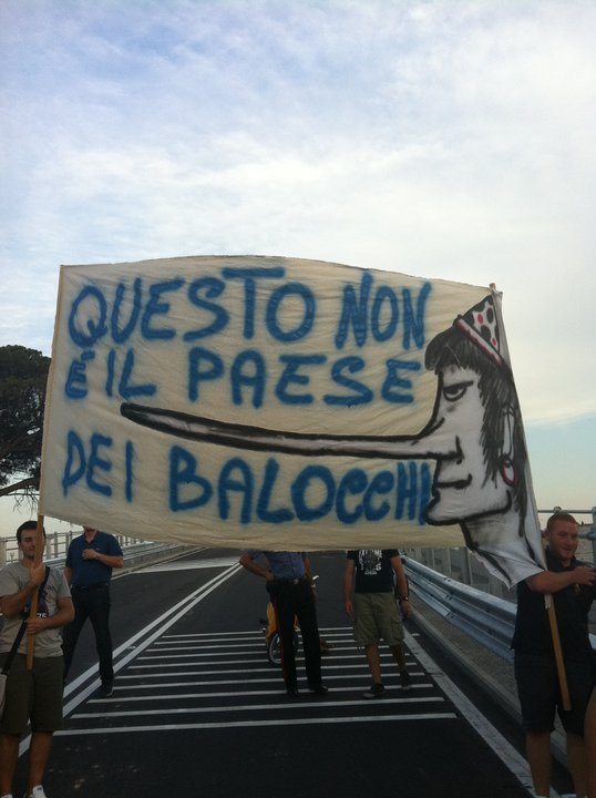VENDOLA, GIOVANE ITALIA TERLIZZI (PDL): QUESTO NON E' IL PAESE DEI BALOCCHI