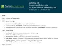 IL WEB 2.0 SI APRE ALLE PICCOLE E MEDIE IMPRESE