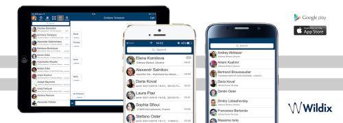 Wildix app su iPhone novità per migliorare la user experience degli utenti