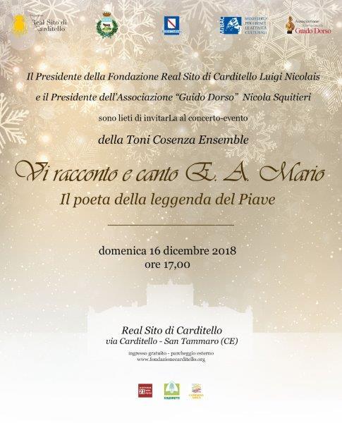 LA FONDAZIONE CARDITELLO RICORDA E.A.MARIO