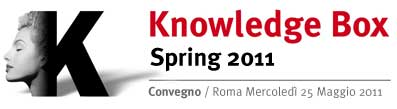 Knowledge Box Spring 2011: a Roma il convegno <b>it</b> Consult su Organization Intelligence