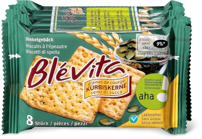 """Migros richiama i biscotti """"Blévita"""" ai semi di zucca"""