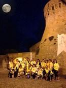 """""""Salute in cammino con la luna piena"""" ad Acquaviva Picena"""
