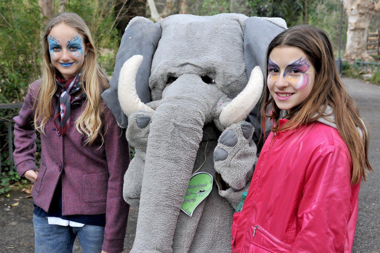 Domenica 26 febbraio Carnevale al Bioparco di Roma Bambini mascherati gratis