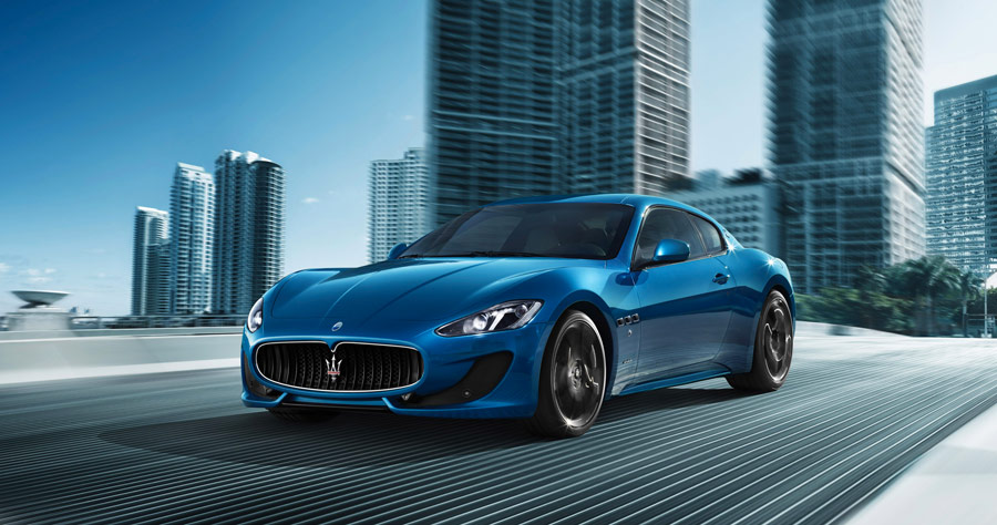 Maserati GranTurismo Sport in anteprima mondiale al Salone Internazionale dell'Automobile di Ginevra 2012