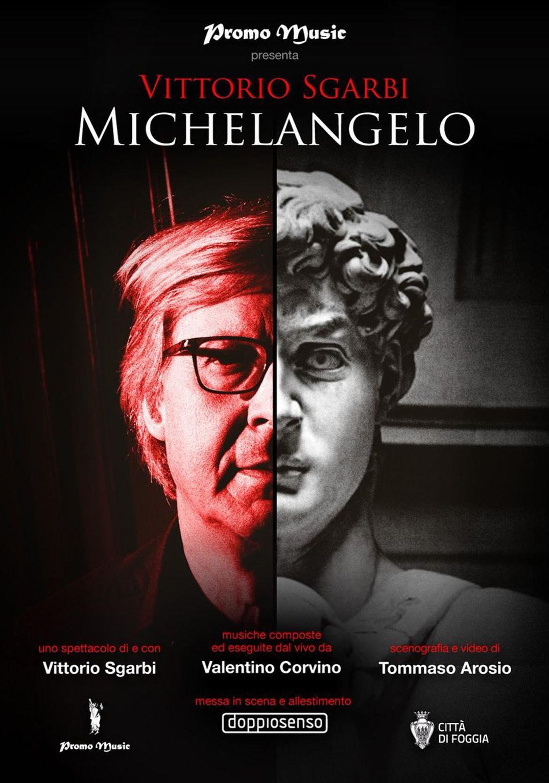 « Michelangelo» di e con Vittorio Sgarbi alla Rocca Malatestiana di Fano