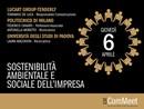 Sostenibilità Ambientale e Sociale dell'Impresa è il tema del prossimo evento Icat ComMeet