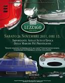 26 NOVEMBRE 2011 ASTA DI AUTO DA COLLEZIONE ORGANIZZATA DALLA CASA D'ASTE LUZZAGO