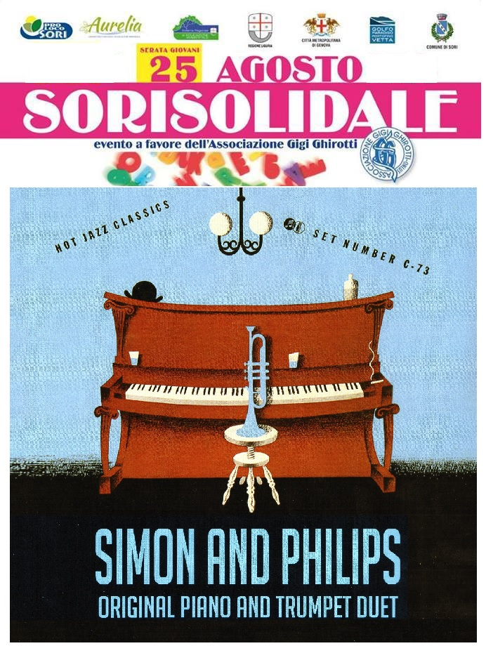 Simon and Philips Duet a SoriSolidale 2016
