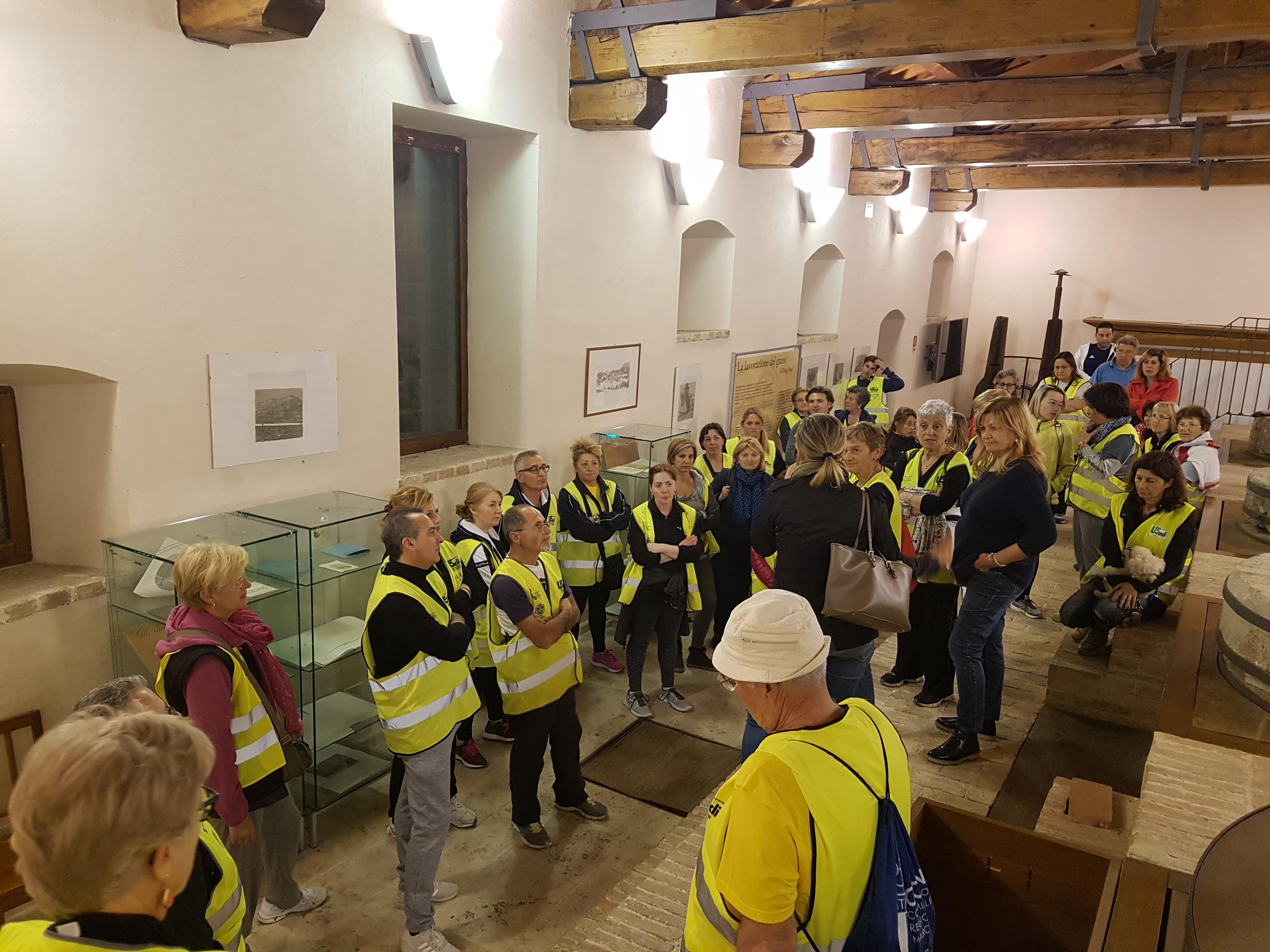 """Ad Ascoli Piceno la prima tappa del progetto """"Camminate dei musei"""""""