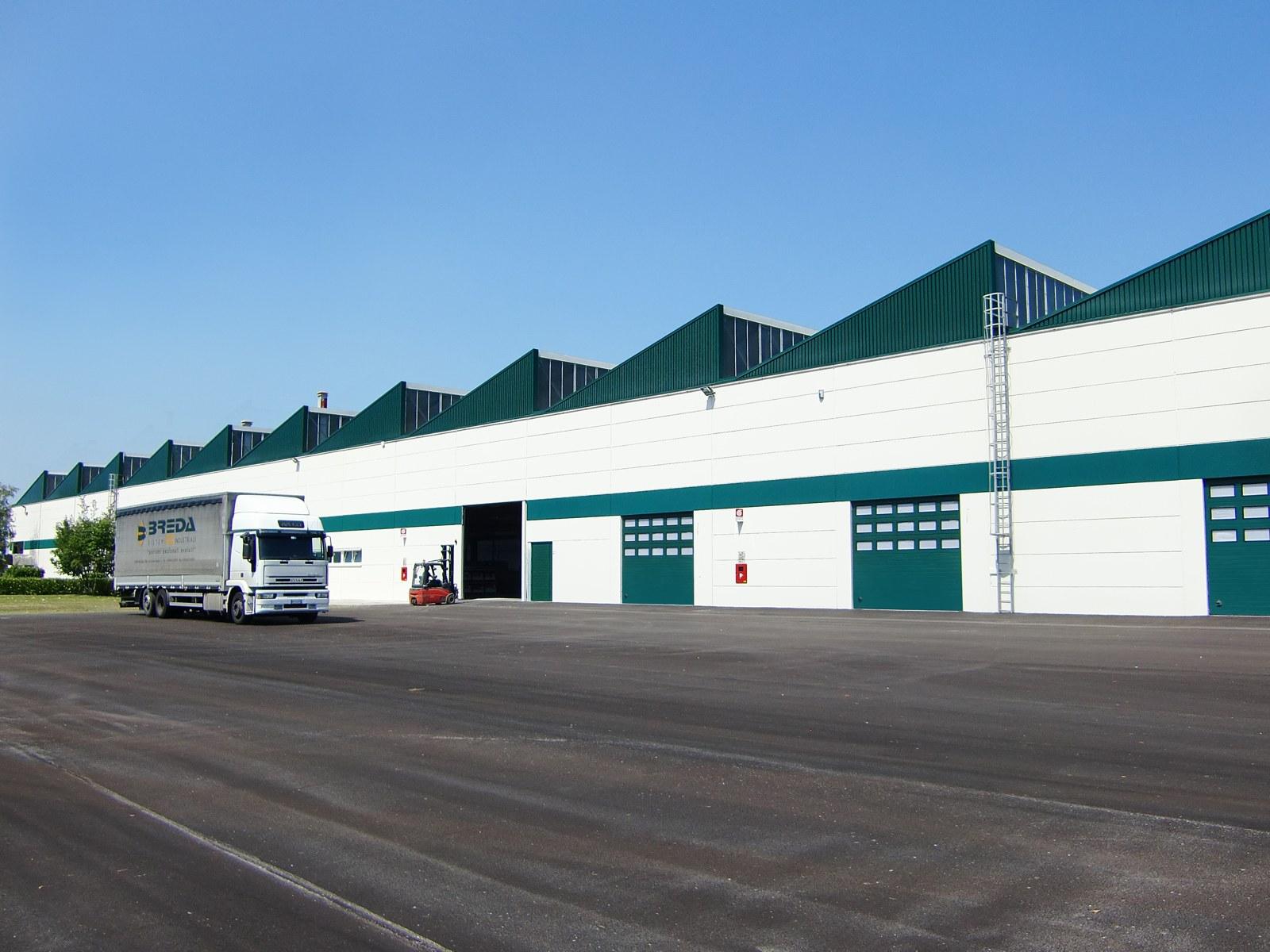 Breda sistemi industriali amplia la produzione portoni a for Breda portoni