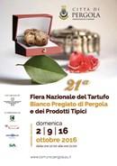 A Pergola la 21esima Fiera Nazionale del Tartufo: 2 km di mostra mercato, serate gastronomiche, concerti, spettacoli