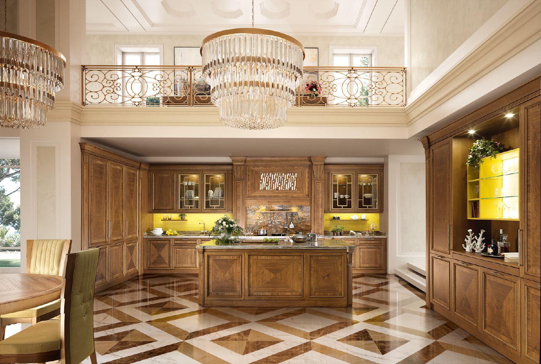 Cucina norma di martini mobili vivere l abitare classico for Martini mobili