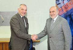 Bonifiche ambientali, AD Sogin Giuseppe Nucci e Presidente Assistal Giuseppe Gargaro firmano un protocollo d'intesa