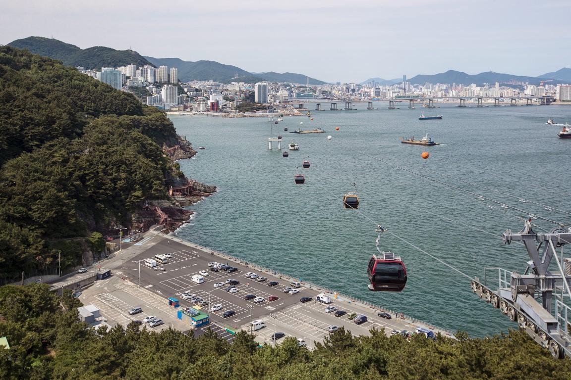 Nuova cabinovia nella seconda città più grande della Sud Corea Doppelmayr apre la Busan Air Cruise