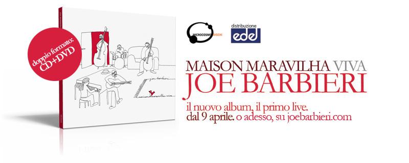 JOE BARBIERI: AD APRILE NUOVO ALBUM E PRIMO LIVE