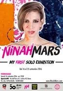 """""""MY FIRST SOLO EXHIBITION"""" personale di Ninah Mars dal 16 al 25 settembre 2016"""