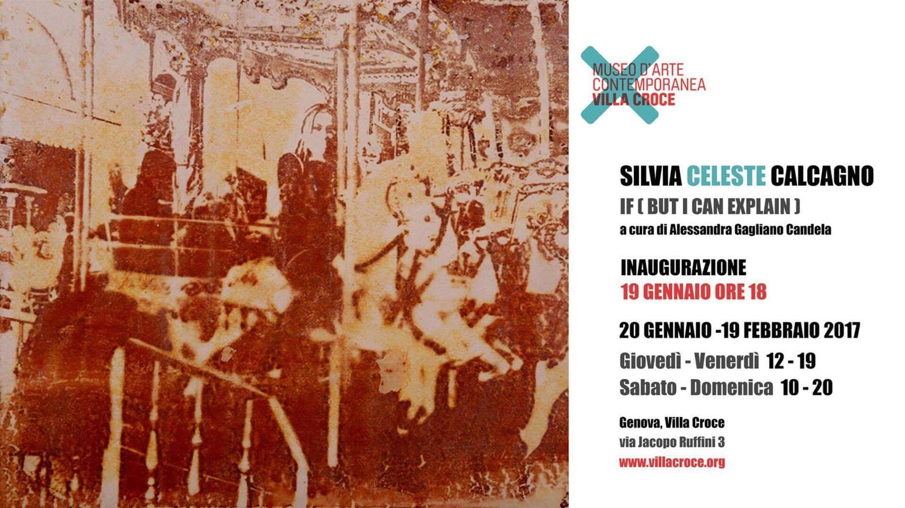 Silvia Celeste Calcagno. If (but I can explain)