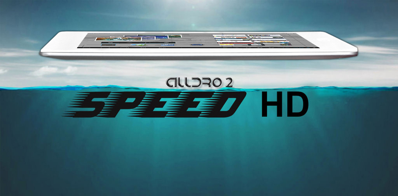 Allview lancia il tablet AllDro2 Speed HD