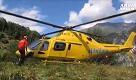 Elicottero caduto: recuperate le tre vittime ai piedi della vetta - La Repubblica