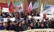 Firenze, la protesta dei lavoratori degli enti lirici in piazza con lInno nazionale